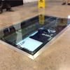glass floor panel